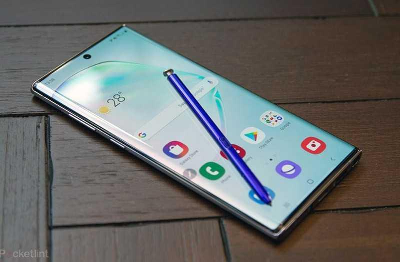 Samsung Galaxy Note 10 Plus система