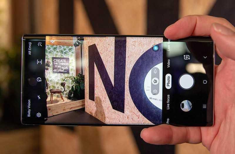 Samsung Galaxy Note 10 Plus качество съёмки