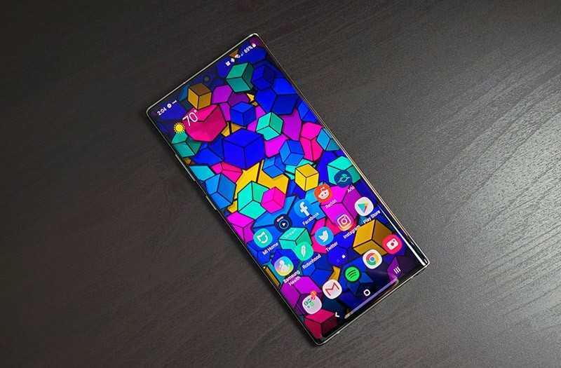 Samsung Galaxy Note 10 Plus экран