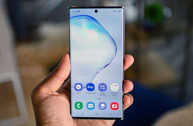 Samsung Galaxy Note 10 Plus дисплей