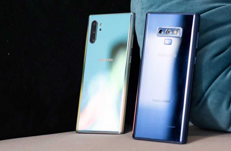 Samsung Galaxy Note 10 Plus vs Samsung Galaxy Note 9 производительность