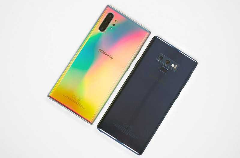 Samsung Galaxy Note 10 Plus vs Samsung Galaxy Note 9