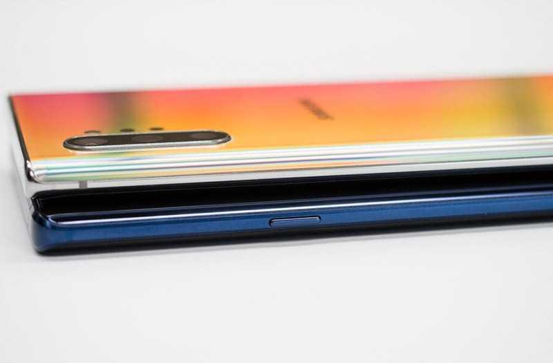 Сравнение характеристик Samsung Galaxy Note 10 Plus vs Note 9