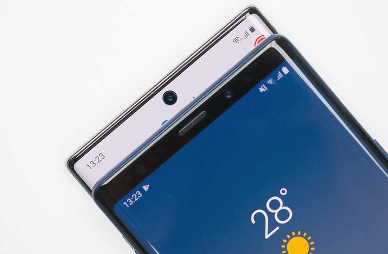 Samsung Galaxy Note 10 Plus vs Samsung Galaxy Note 9 безопасность