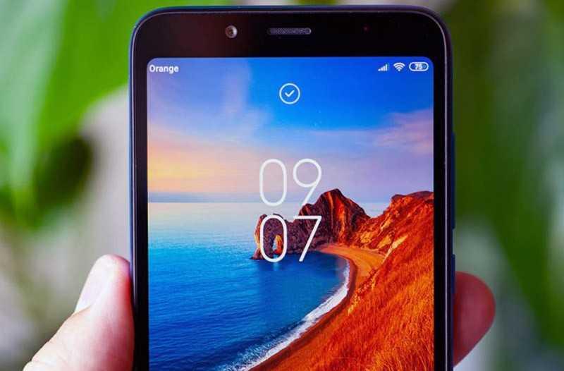 Xiaomi Redmi 7A передняя камера
