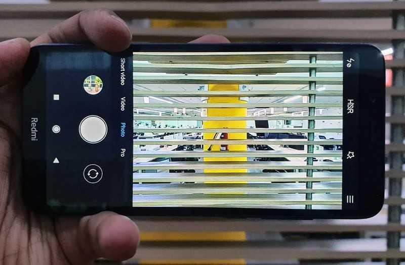 Xiaomi Redmi 7A съёмка