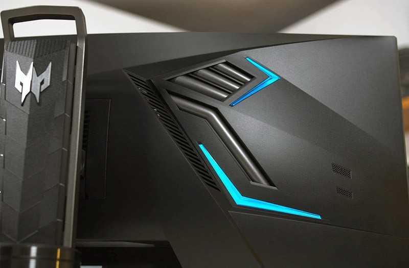 Acer Predator X35 сзади
