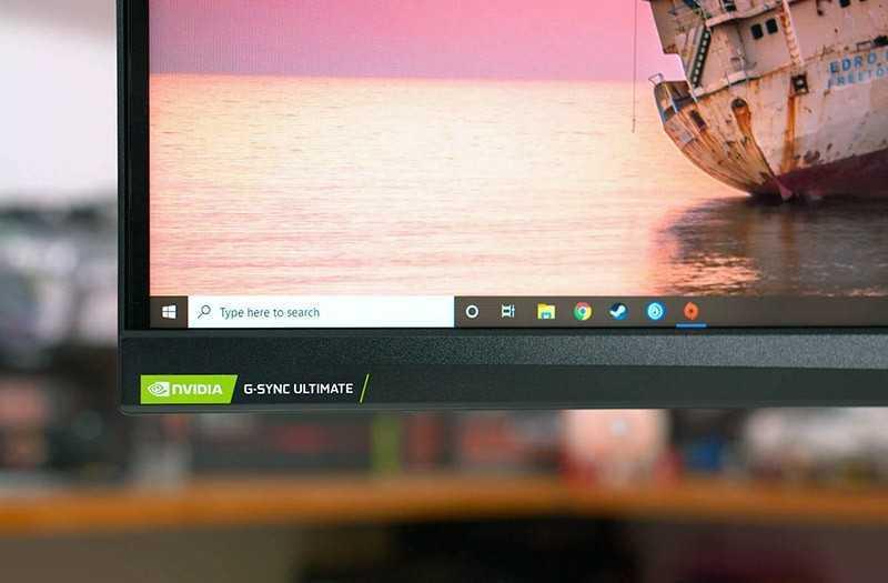 Acer Predator X35 управление