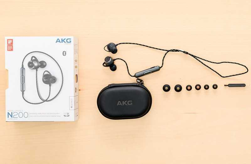 AKG N200 из коробки