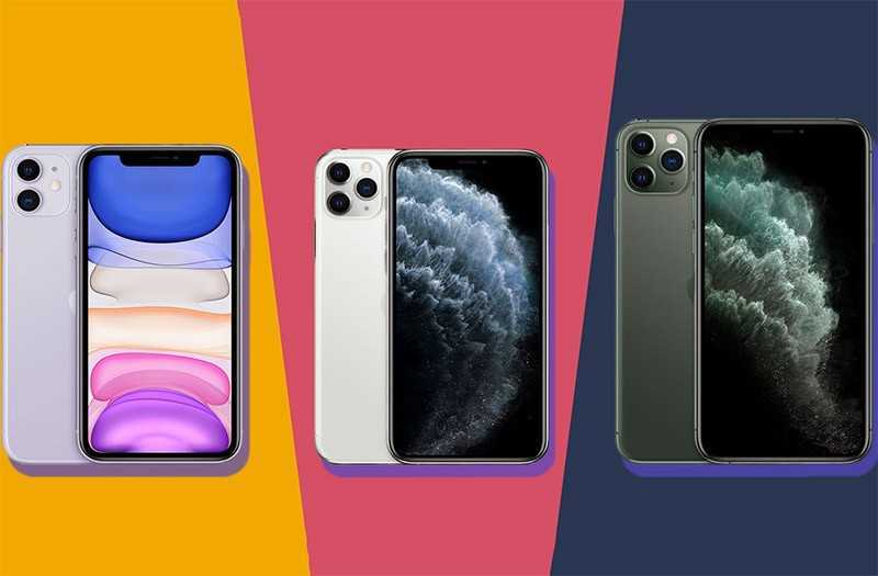 Apple iPhone 11 vs iPhone 11 Pro vs iPhone 11 Pro Max