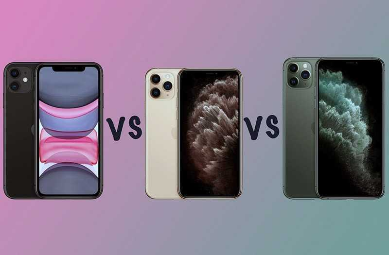 Apple iPhone 11 vs iPhone 11 Pro vs iPhone 11 Pro Max — Сравнение TehnObzor