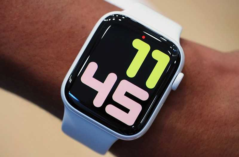 Apple Watch Series 5 дизайн