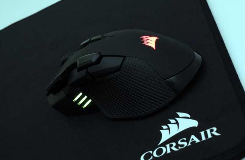 Corsair IronClaw RGB Wireless подсветка