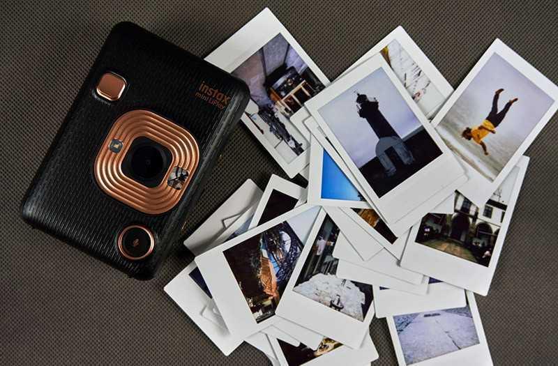 Fujifilm Instax Mini LiPlay качество съёмки