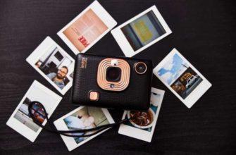 Обзор Fujifilm Instax Mini LiPlay мгновенной фотокамеры — Отзывы TehnObzor