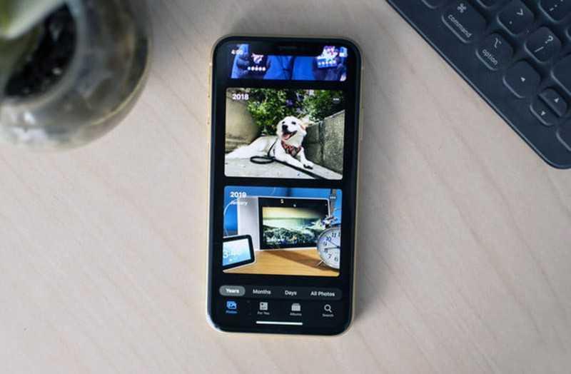 iOS 13 фотографии