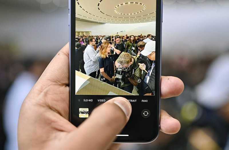 iPhone 11 съёмка