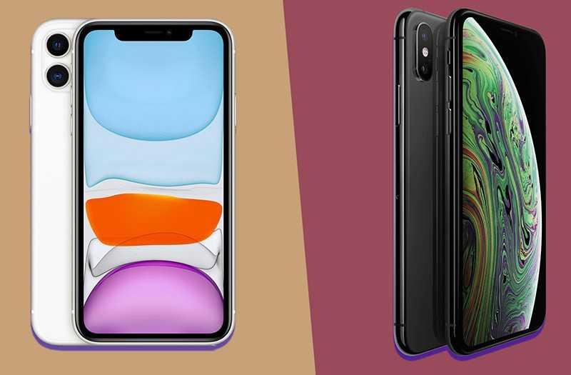 Сравнение Apple iPhone 11 Pro vs iPhone XS vs iPhone X