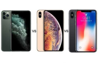 Apple iPhone 11 Pro vs iPhone XS vs iPhone X — Сравнение TehnObzor