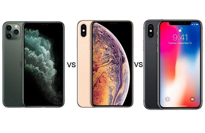 Apple iPhone 11 Pro vs iPhone XS vs iPhone X — Сравнение TehnObzor
