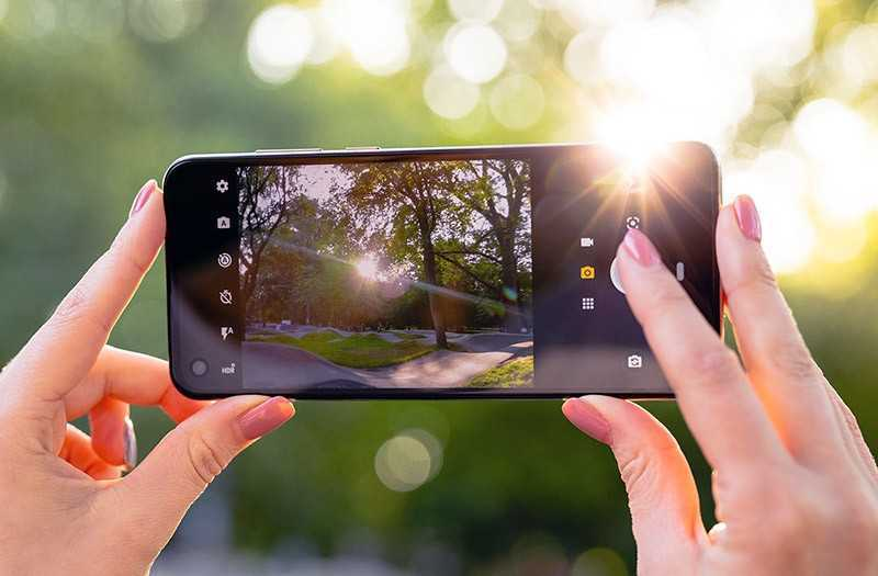 Motorola One Action съёмка