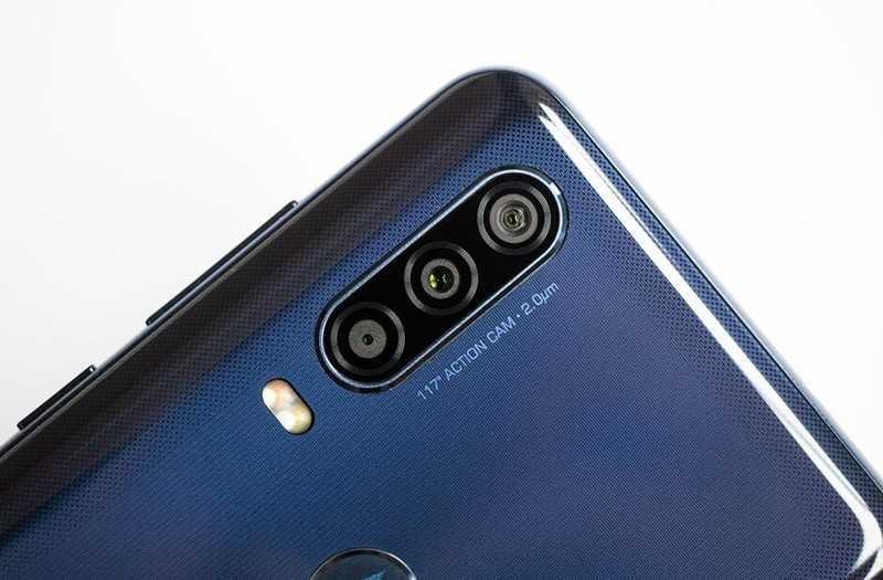 Motorola One Action камеры