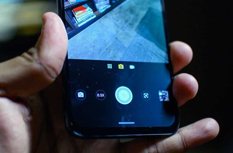 Motorola One Zoom приложение камер