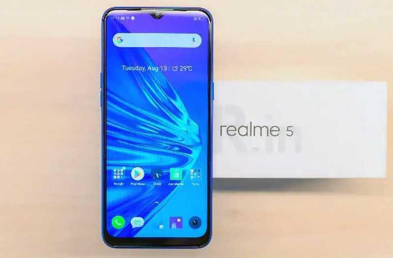 Realme 5 телефон