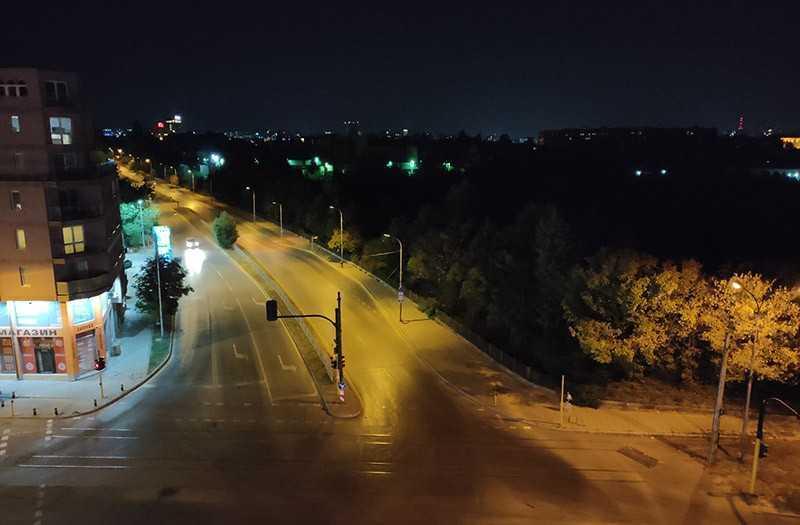 Realme Q ночное фото