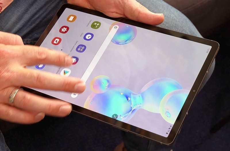 Samsung Galaxy Tab S6 производительность