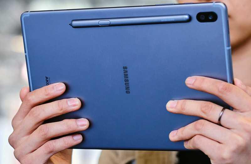 Samsung Galaxy Tab S6 режим Dex