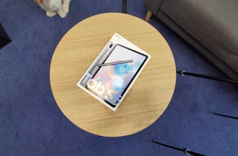 Samsung Galaxy Tab S6 фото с камеры