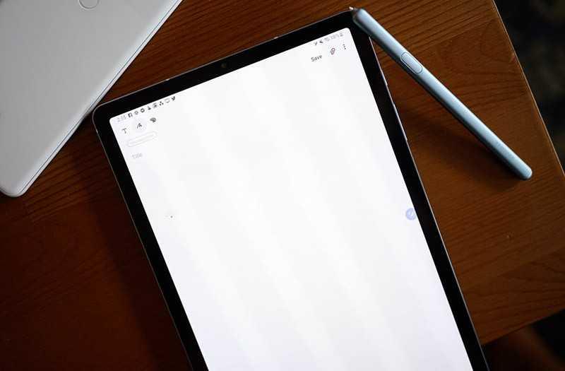 Samsung Galaxy Tab S6 стилус
