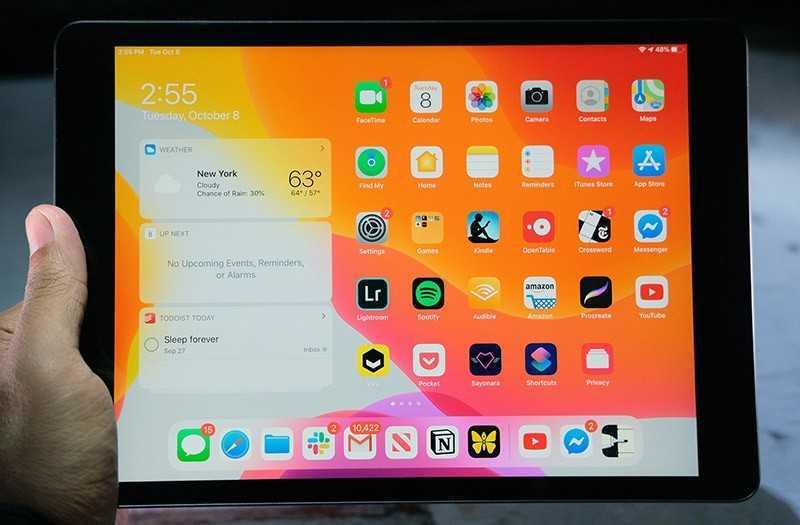 Обзор iPad 10.2