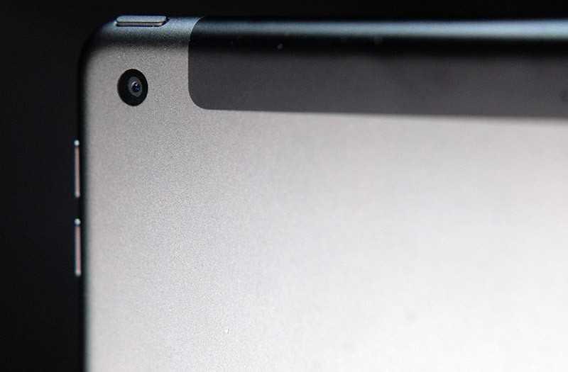 iPad 10.2 камера