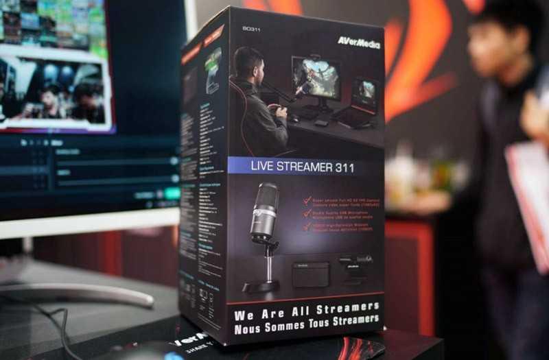 AVerMedia Live Streamer 311 отзывы