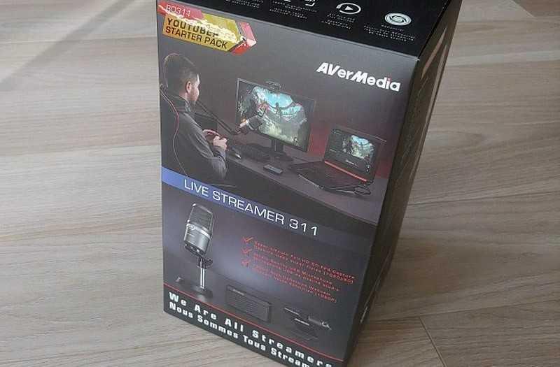 Что это AVerMedia Live Streamer 311?