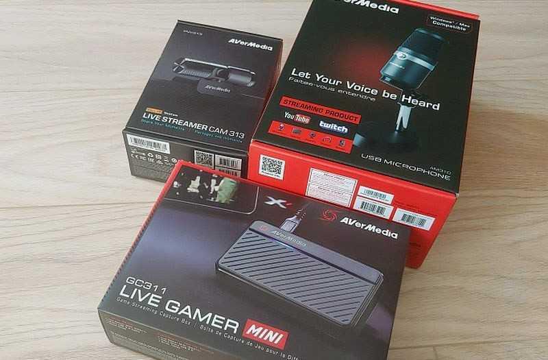 AVerMedia Live Streamer 311 комплект