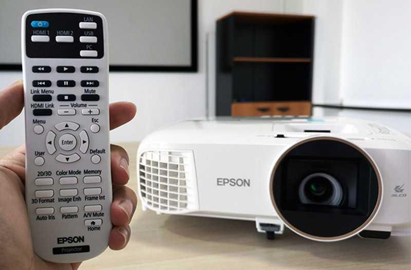 Epson EH-TW5650 управление