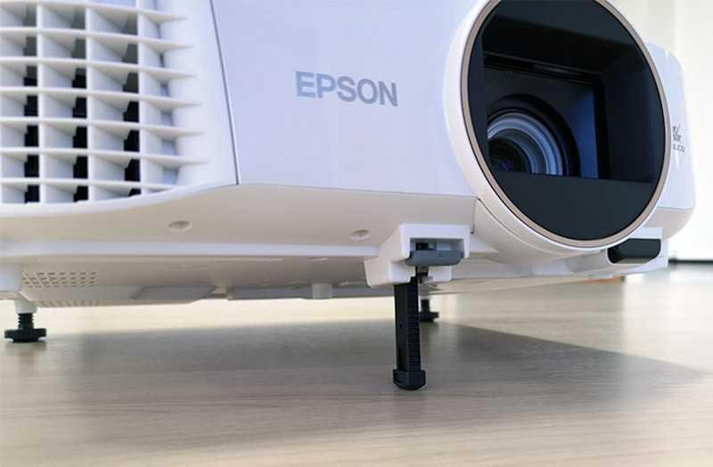 Epson EH-TW5650 проецирование