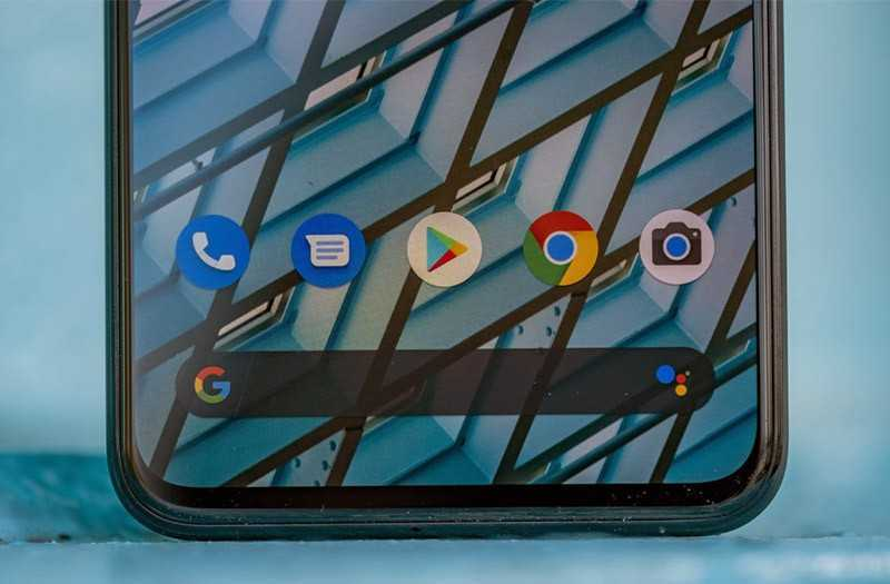Google Pixel 4 дисплей