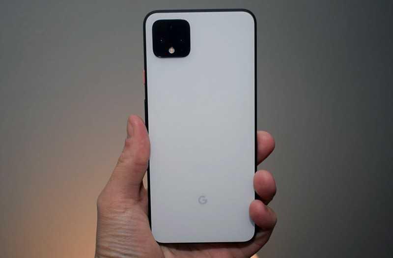 Google Pixel 4 камерв