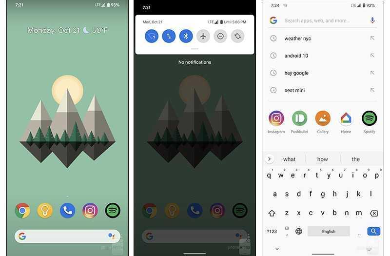 Google Pixel 4 ПО
