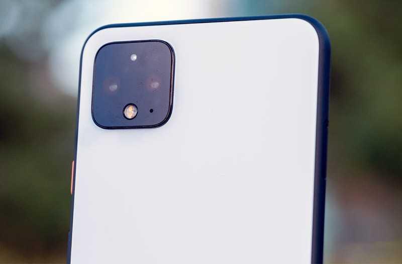 Google Pixel 4 портретный режим
