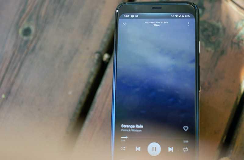 Google Pixel 4 звук