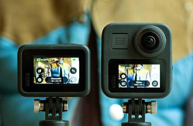 Съёмка GoPro Max