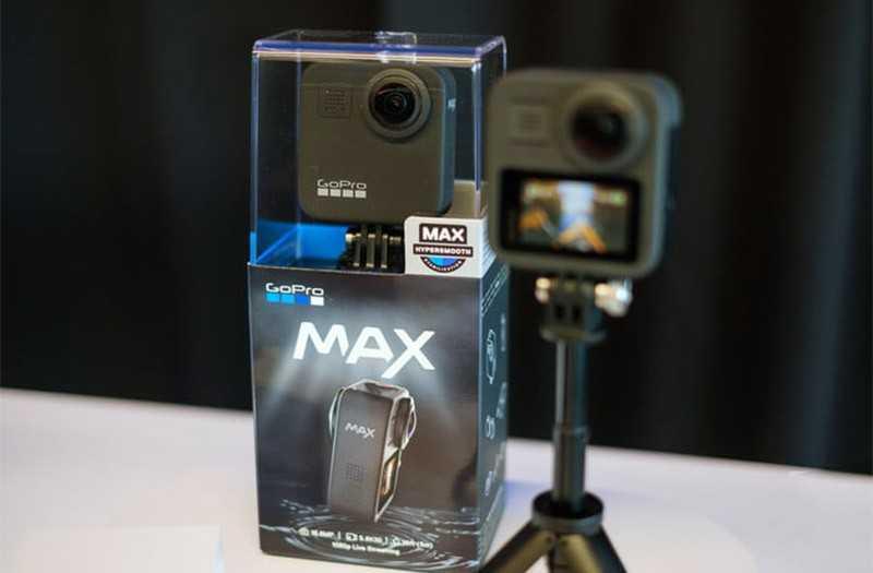 Характеристики GoPro Max 360