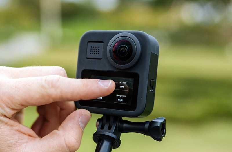 GoPro Max качество съёмки