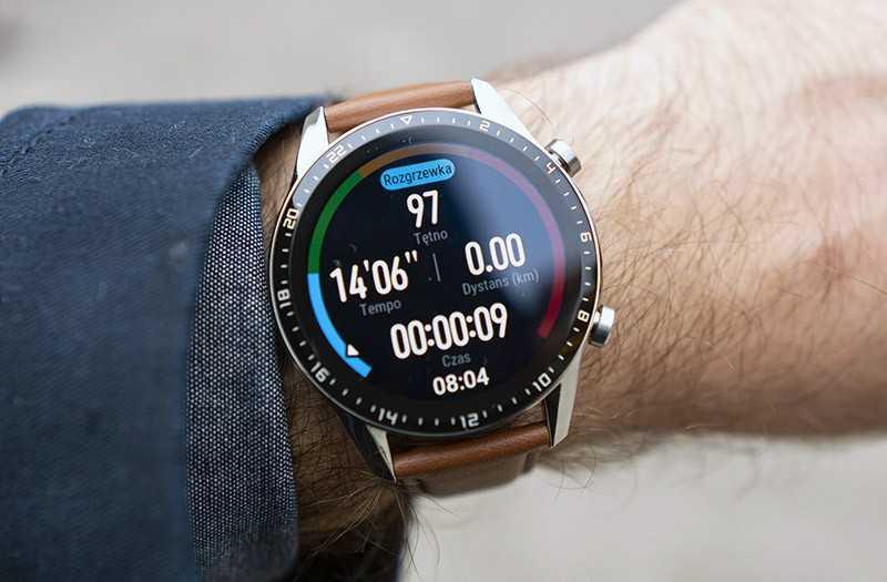 Huawei Watch GT 2 тренировки