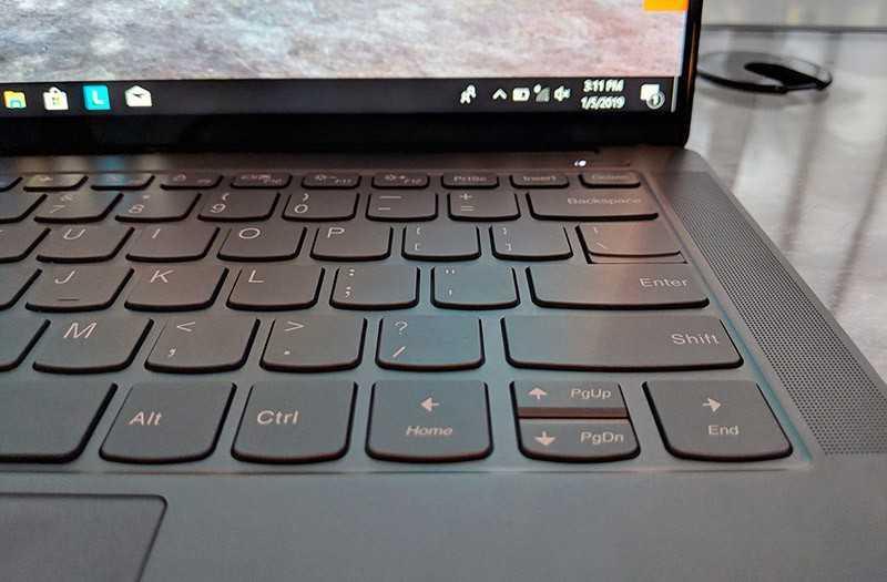 Lenovo Yoga S940 звук